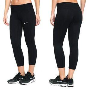 NIKE Power Essential Dri-Fit Crop Black Legging